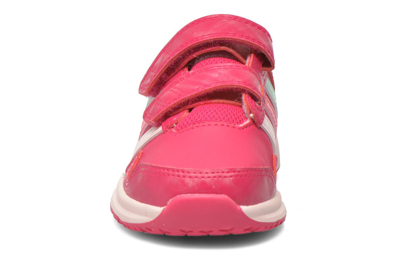 Chaussures de sport Adidas Performance Snice 4 CF I Rose vue portées chaussures