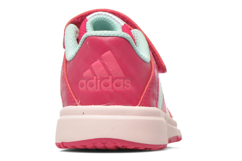 Chaussures de sport Adidas Performance Snice 4 CF I Rose vue droite