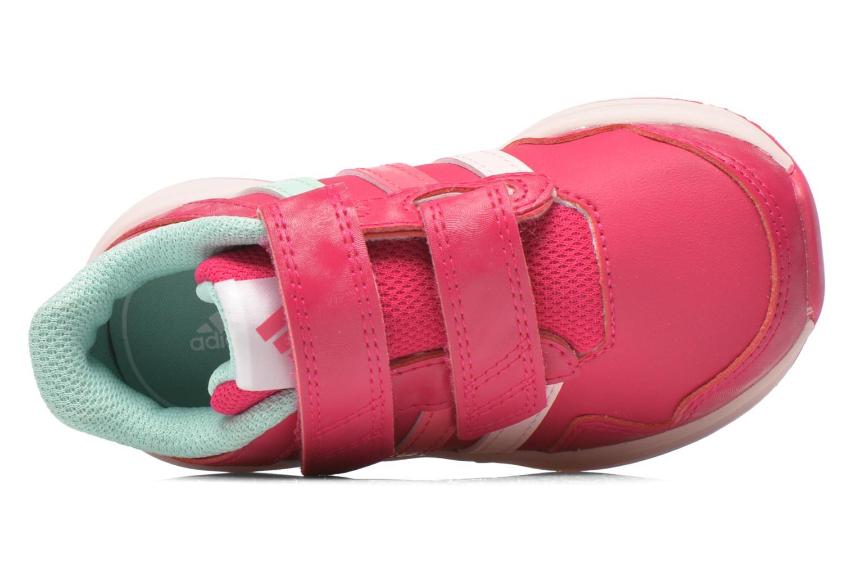 Chaussures de sport Adidas Performance Snice 4 CF I Rose vue gauche