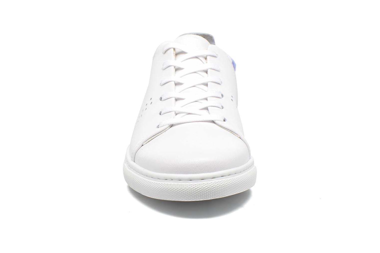 Baskets M. Moustache René Bleu vue portées chaussures