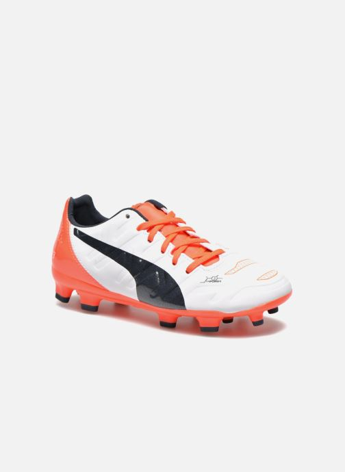 Chaussures de sport Puma EVOPOWER 3 2 FG. Blanc vue détail/paire
