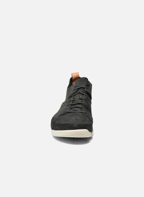 Sneaker Clarks Originals Trigenic Flex M schwarz schuhe getragen
