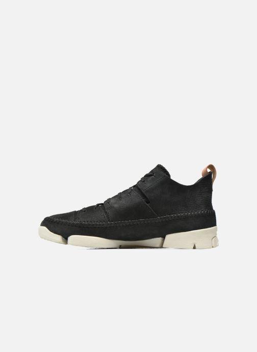 Sneaker Clarks Originals Trigenic Flex M schwarz ansicht von vorne