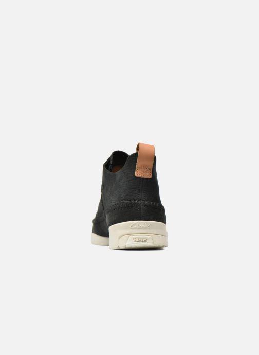 Baskets Clarks Originals Trigenic Flex M Noir vue droite