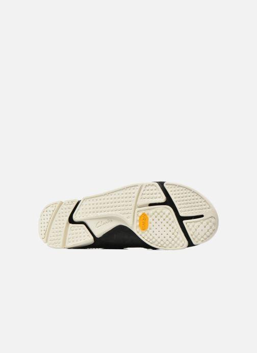 Sneaker Clarks Originals Trigenic Flex M schwarz ansicht von oben