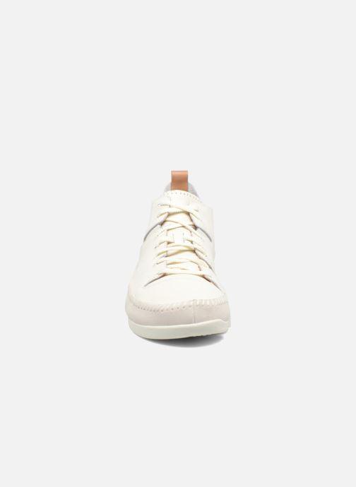Baskets Clarks Originals Trigenic Flex M Blanc vue portées chaussures