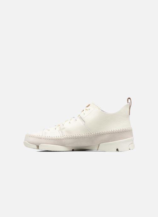 Sneaker Clarks Originals Trigenic Flex M weiß ansicht von vorne
