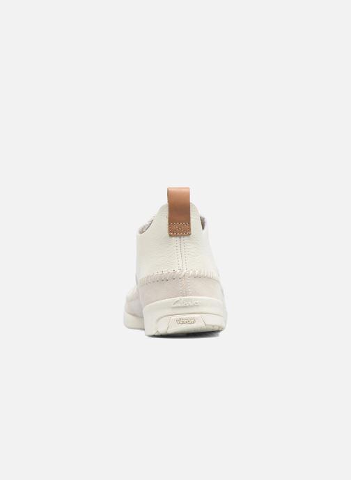 Baskets Clarks Originals Trigenic Flex M Blanc vue droite