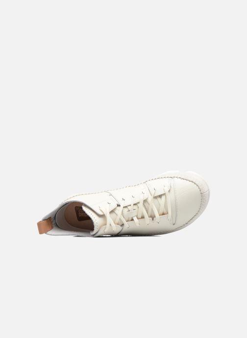 Baskets Clarks Originals Trigenic Flex M Blanc vue gauche
