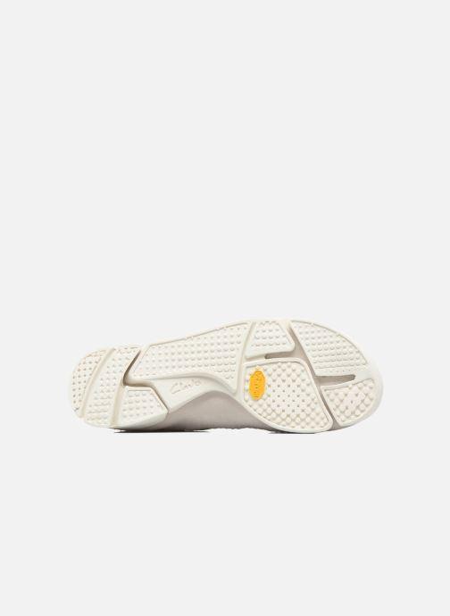 Sneaker Clarks Originals Trigenic Flex M weiß ansicht von oben