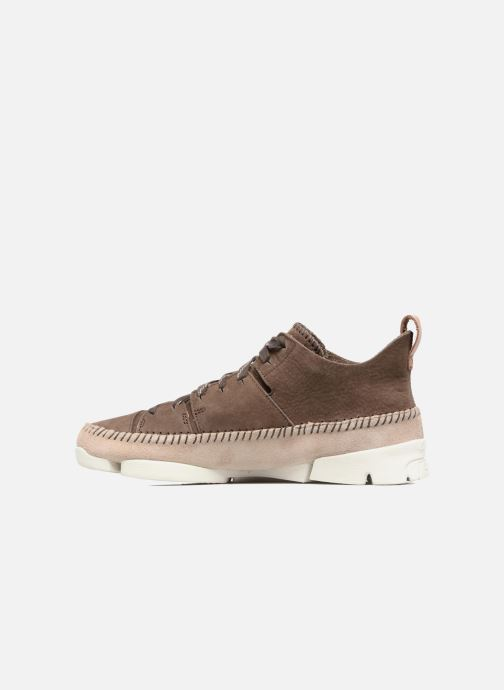Baskets Clarks Originals Trigenic Flex M Marron vue face