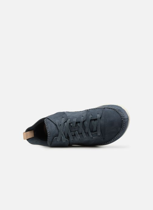 Trainers Clarks Originals Trigenic Flex M Green view from the left