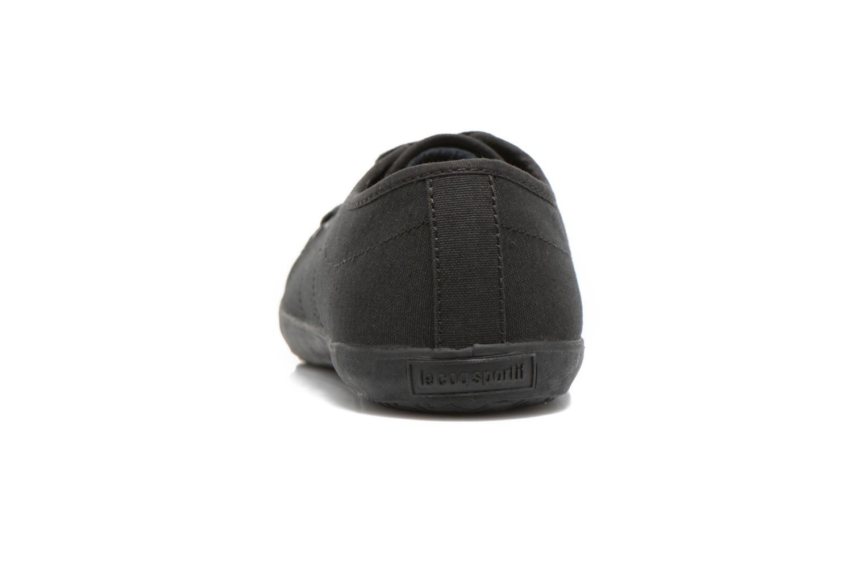 Baskets Le Coq Sportif Slimset CVS Noir vue droite