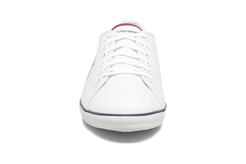 Baskets Le Coq Sportif Slimset CVS Blanc vue portées chaussures
