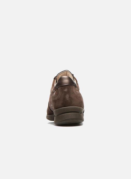 Baskets UMO Confort Douti Marron vue droite