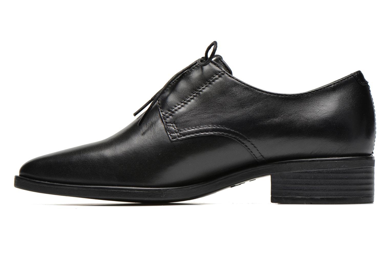Snøresko Vagabond Shoemakers OLGA 4014-401 Sort se forfra
