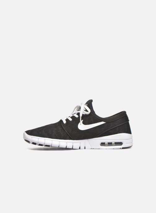 Trainers Nike Stefan Janoski Max Black front view