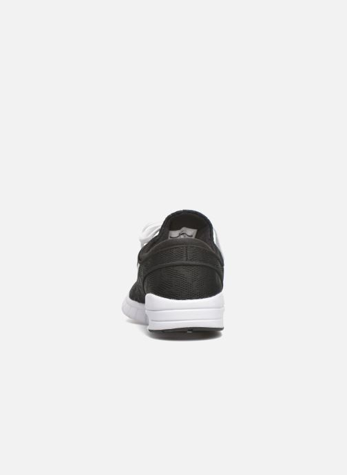 Trainers Nike Stefan Janoski Max Black view from the right