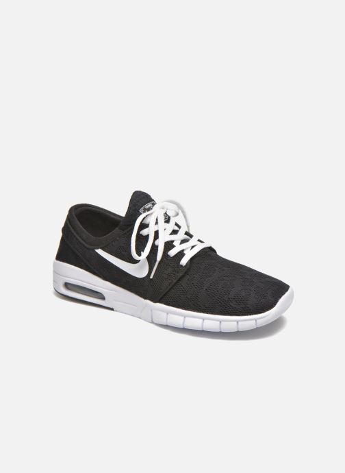 Trainers Nike Stefan Janoski Max Black detailed view/ Pair view