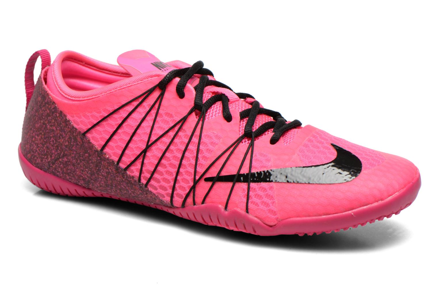 sports shoes d38ef 8938b ... new zealand trainers nike wmns free 1.0 cross bionic 2 pink detailed  view pair view 05087