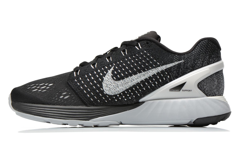 Chaussures de sport Nike Wmns Nike Lunarglide 7 Noir vue face