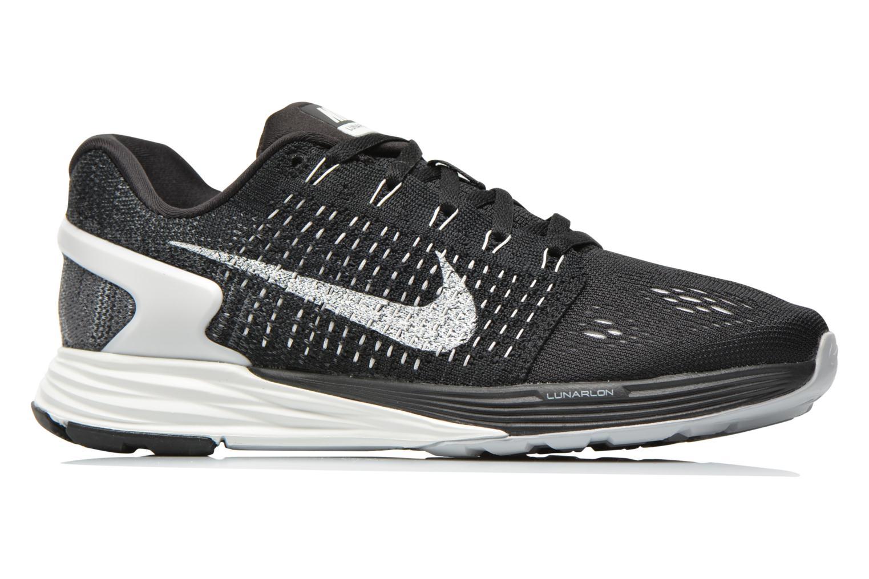 Chaussures de sport Nike Wmns Nike Lunarglide 7 Noir vue derrière