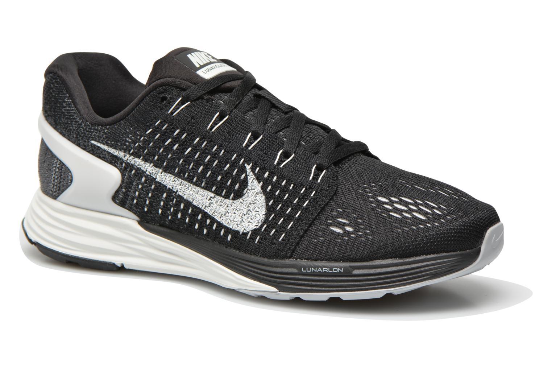 Chaussures de sport Nike Wmns Nike Lunarglide 7 Noir vue détail/paire