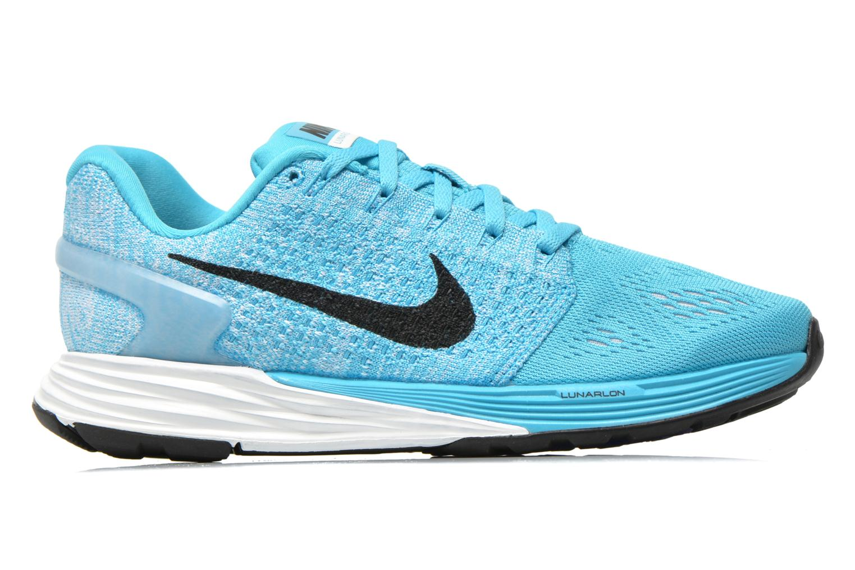 Chaussures de sport Nike Wmns Nike Lunarglide 7 Bleu vue derrière