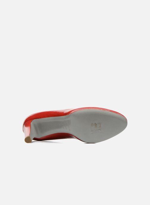 Escarpins Sergio Rossi Ambra Rouge vue haut