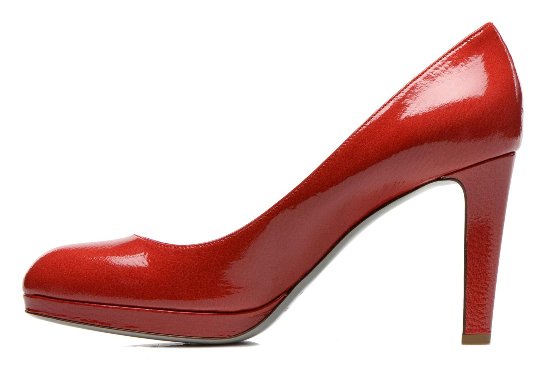 Escarpins Sergio Rossi Ambra Rouge vue face
