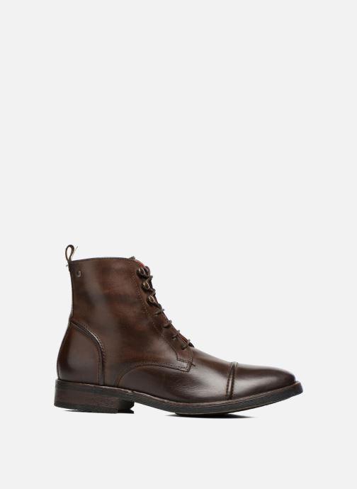 Stiefeletten & Boots Base London Clapham braun ansicht von hinten