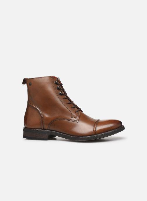 Bottines et boots Base London Clapham Marron vue derrière