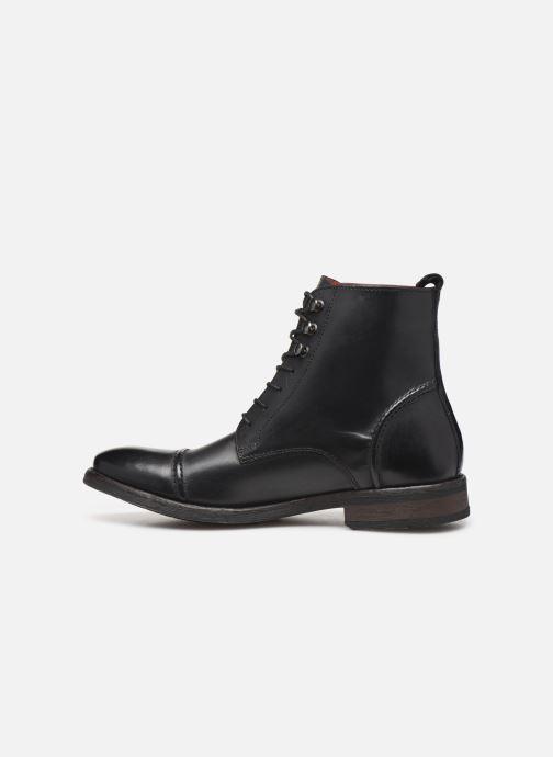 Boots en enkellaarsjes Base London Clapham Zwart voorkant