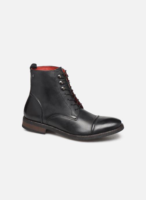 Boots en enkellaarsjes Base London Clapham Zwart detail