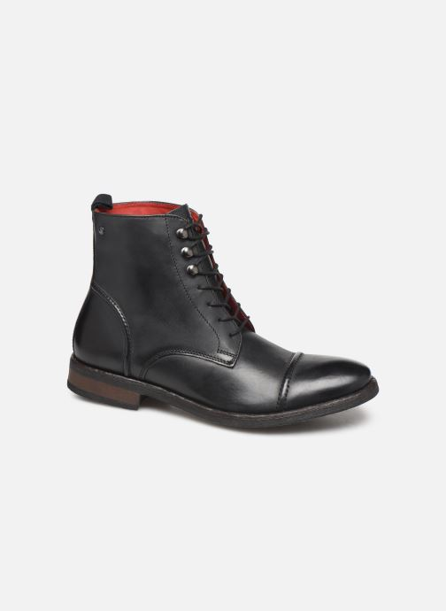 Ankle boots Base London Clapham Black detailed view/ Pair view