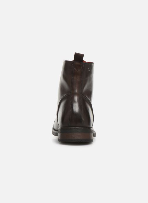 Bottines et boots Base London Clapham Marron vue droite