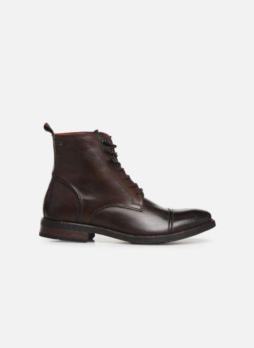 Boots en enkellaarsjes Base London Clapham Bruin achterkant