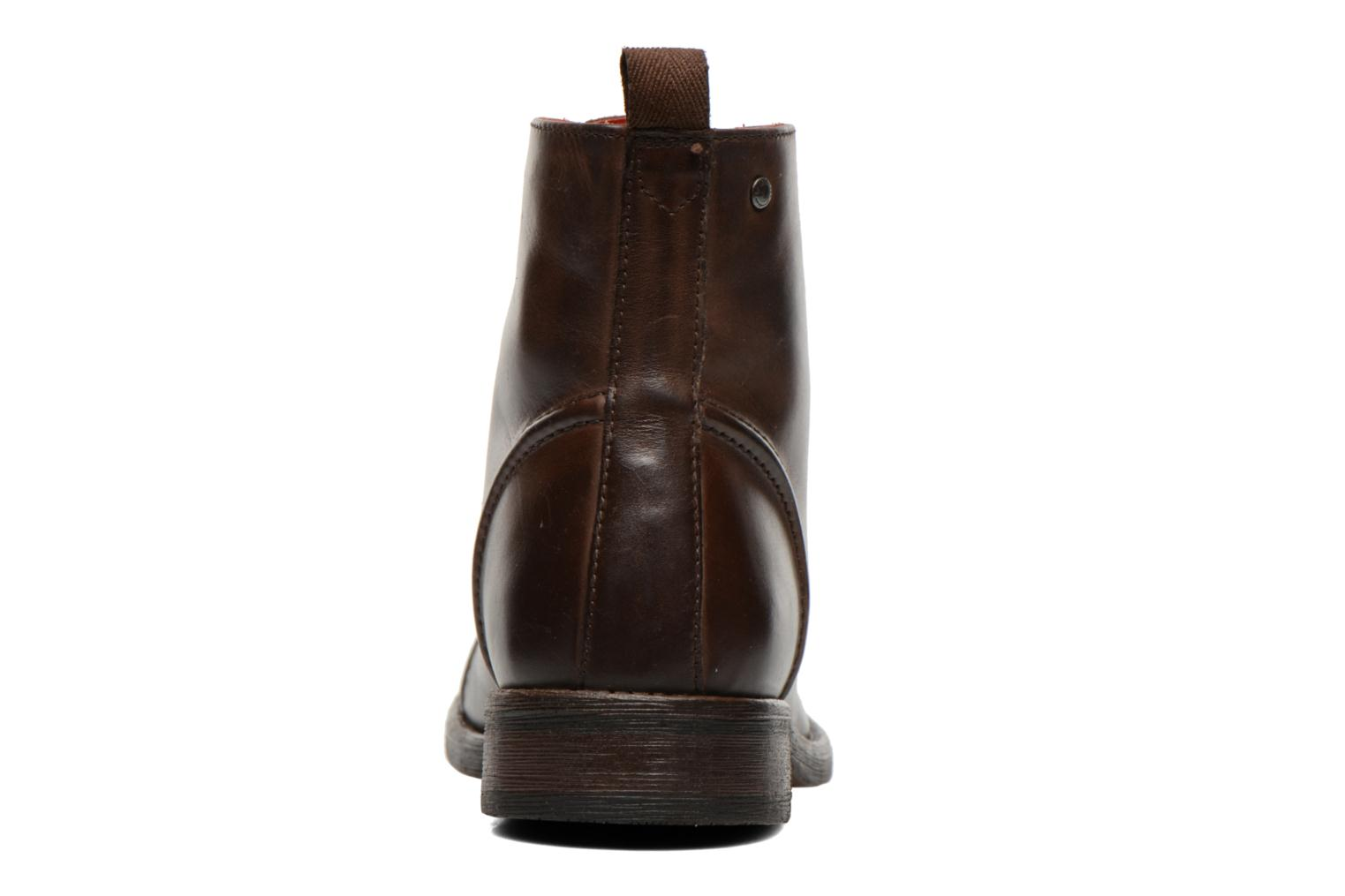 Bottines et boots Base London Clapham Marron vue droite