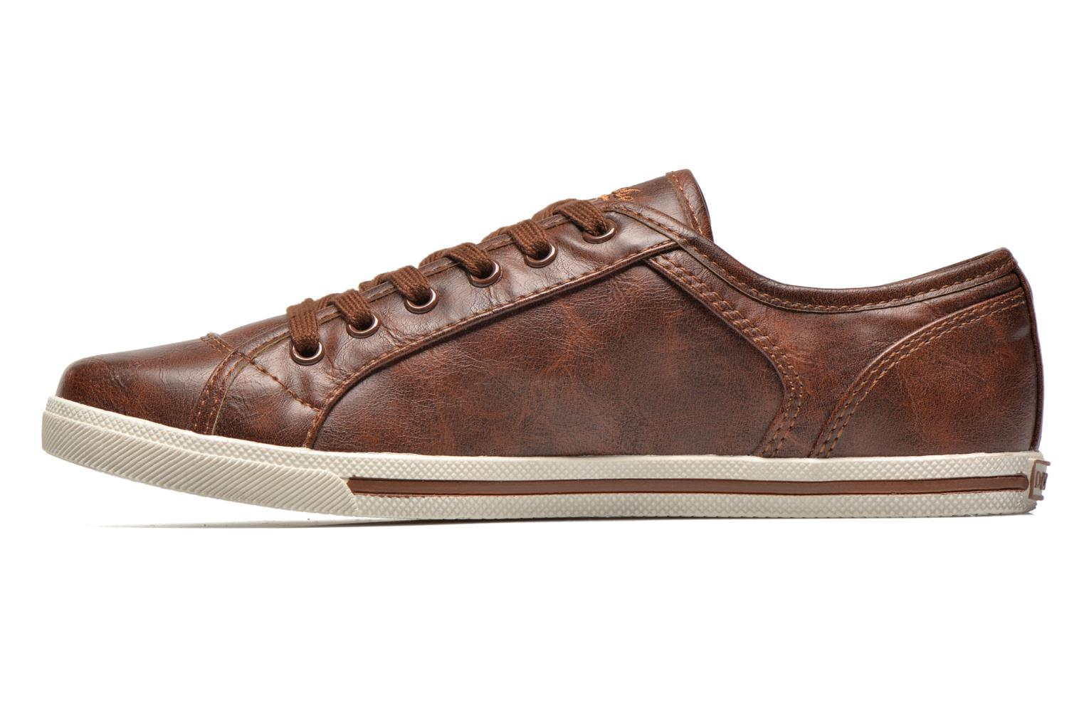 Baskets Dockers Zejari Marron vue face