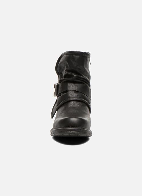 Bottines et boots Dockers Trice Noir vue portées chaussures