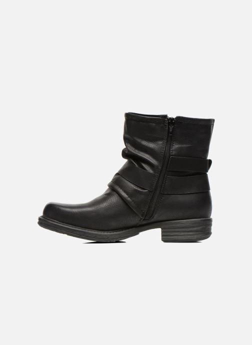 Bottines et boots Dockers Trice Noir vue face