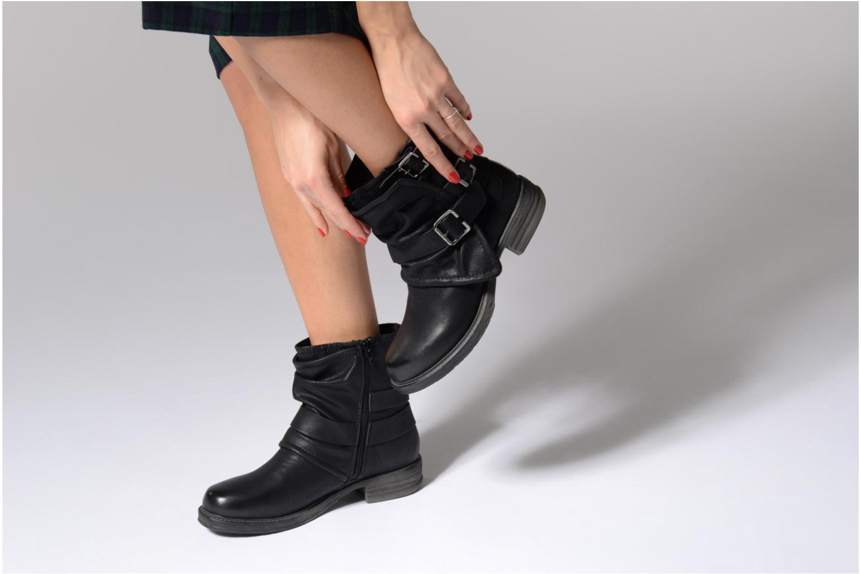 Bottines et boots Dockers Trice Marron vue bas / vue portée sac
