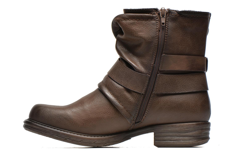 Bottines et boots Dockers Trice Marron vue face