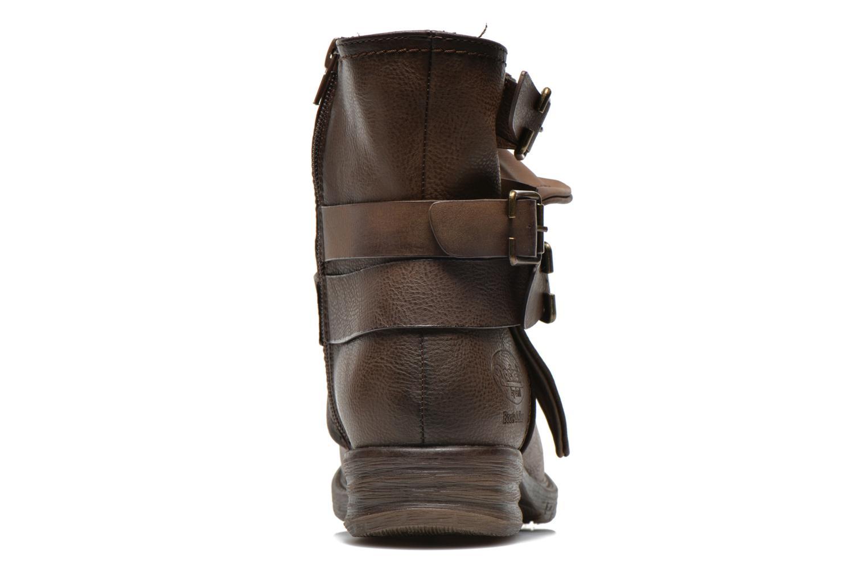 Bottines et boots Dockers Trice Marron vue droite