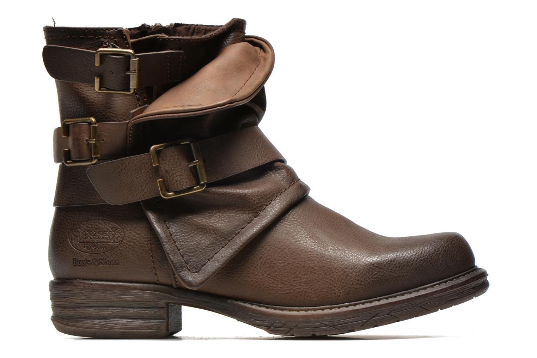 Bottines et boots Dockers Trice Marron vue derrière