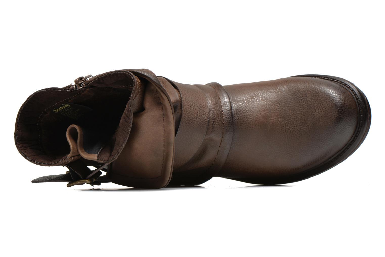 Bottines et boots Dockers Trice Marron vue gauche