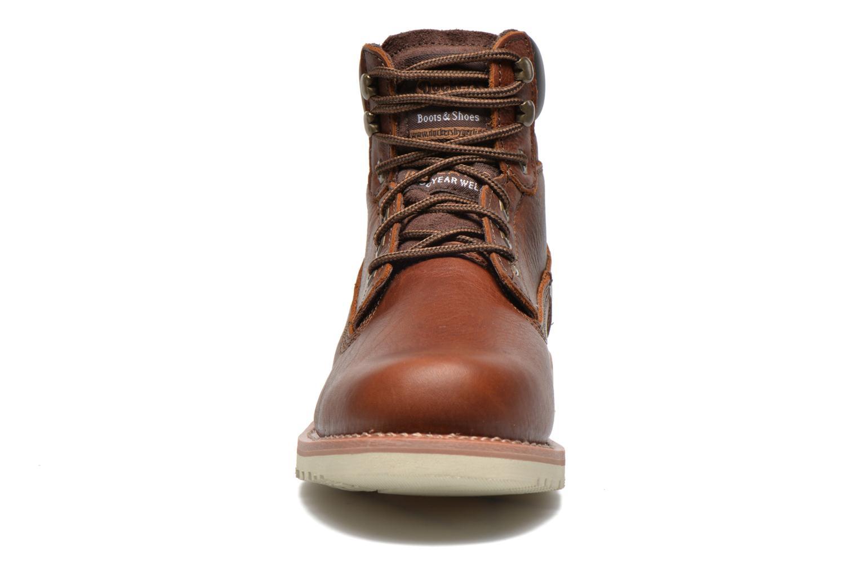 Bottines et boots Dockers Olivier Marron vue portées chaussures