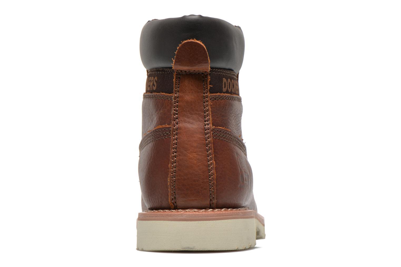 Bottines et boots Dockers Olivier Marron vue droite