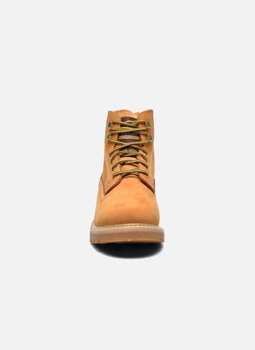 Bottines et boots Dockers Ugo Beige vue portées chaussures