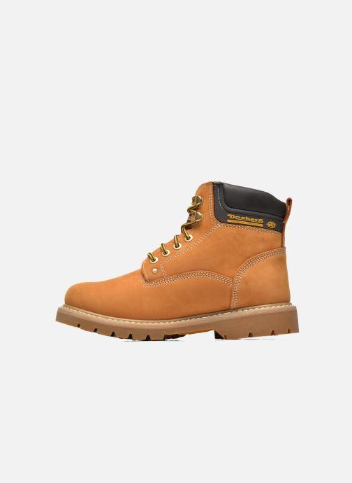 Boots en enkellaarsjes Dockers Ugo Beige voorkant